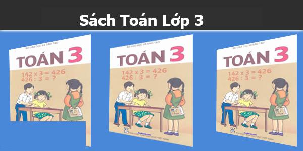Sách Toán Lớp 3