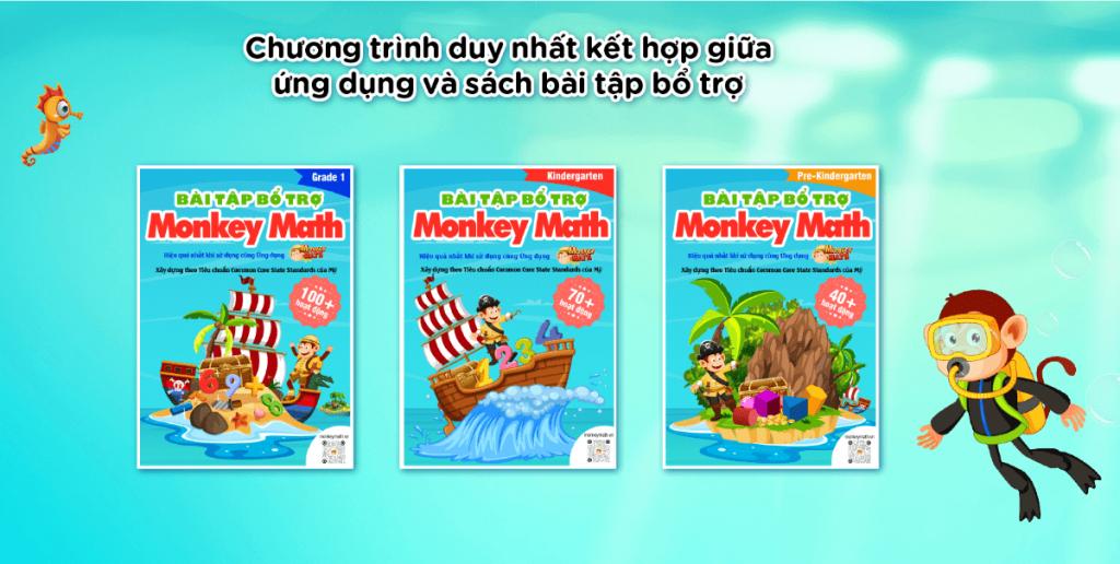 Sách bổ trợ Monkey Math