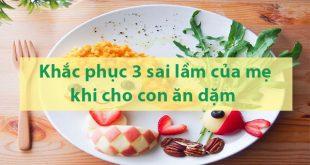 Ăn dặm kiểu Nhật - Khắc phục 3 sai lầm mẹ Việt thường mắc