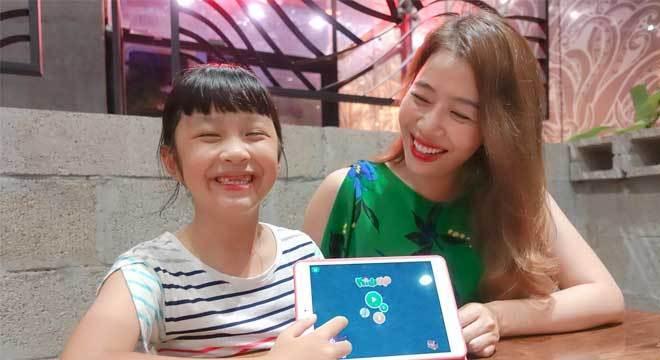 3.2 Review phần mềm KidsUp từ MC Diệp Chi
